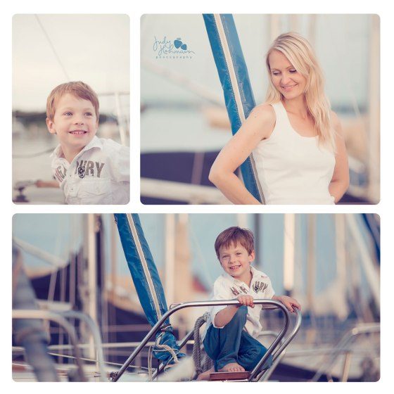 Fotoshooting_Mama_Kind_Segelboot