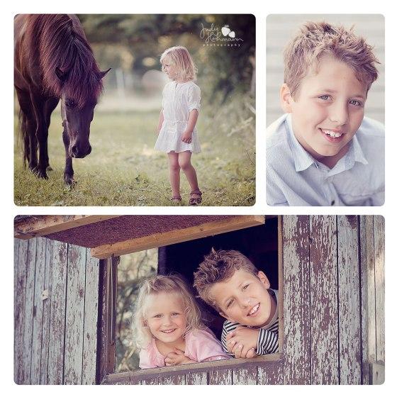 Geschwisterfotos_Natur_Pferd