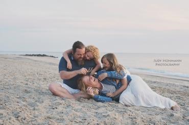 Familienfoto_Strand_Dänemark